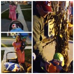 The Munchkin's First Time Trick or Treating