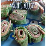 """Toddler Meals Tuesday – Bologna & Cheese """"Sushi Rolls"""""""