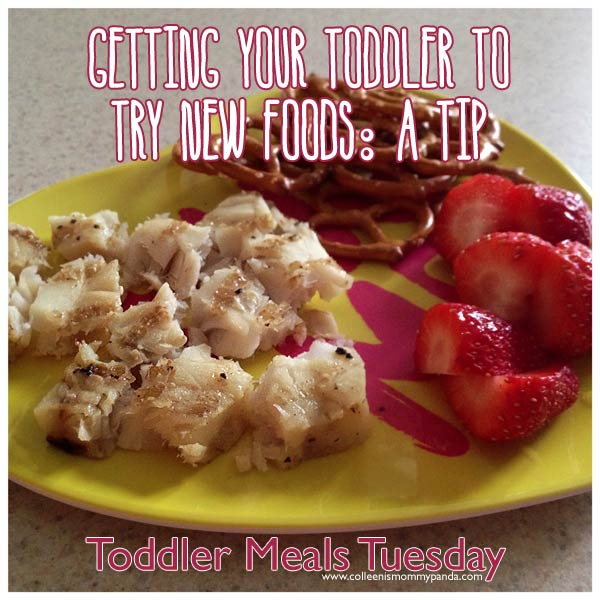 Getting your toddler to try new foods