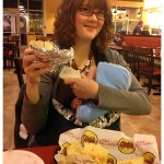 Babywearing Wednesday: Eating Out