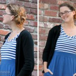 Weekly Wears: Blue Stripped Dress