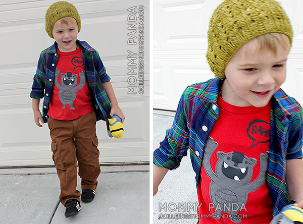 mommy-panda-blog-fabkids-plaid-shirt-brown-cargos1