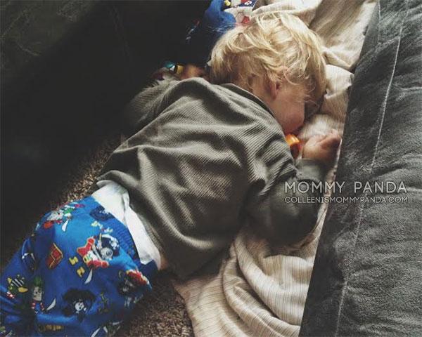mommy-panda-blog-currently-toddler-boy-sleeping