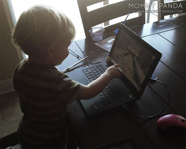 mommy-panda-blog-currently-two-year-old-boy-plays-computer