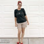 What I Wore: Simple Summer Outfit w/Pops of Red