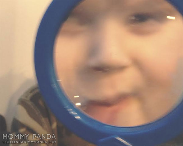 mommy-panda-blog-currently-boy-with-large-face-through-magnifying-glass